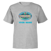 Survivor Season 39 Island of the Idols Personalized Toddler Short Sleeve T-Shirt | Official CBS Entertainment Store
