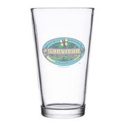 Survivor Season 39 Island of the Idols Pint Glass | Official CBS Entertainment Store