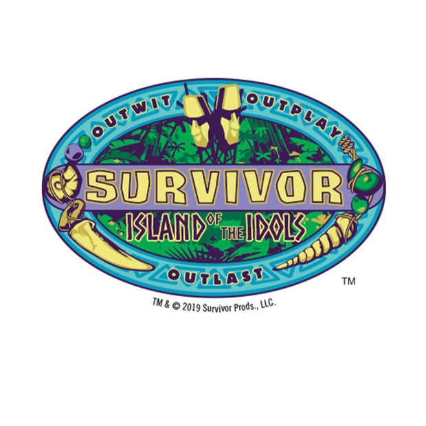 Survivor Season 39 Island of the Idols Ceramic Shot Glass | Official CBS Entertainment Store