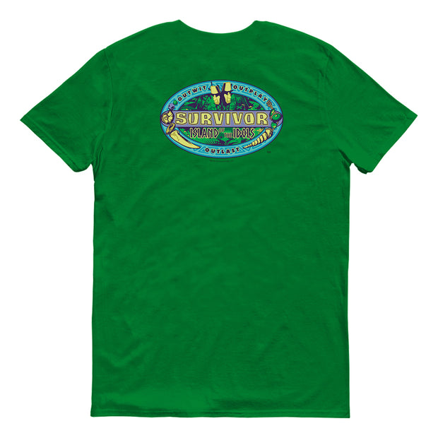 Survivor Season 39 I of the I Adult Short Sleeve T-Shirt | Official CBS Entertainment Store