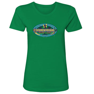 Survivor Season 39 Island of the Idols Women's Short Sleeve T-Shirt | Official CBS Entertainment Store