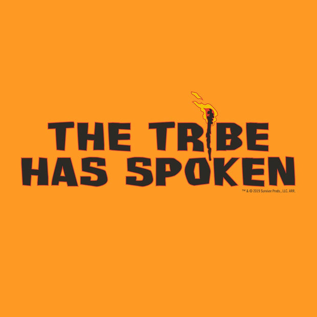Survivor Torch The Tribe Has Spoken Adult Short Sleeve T-Shirt