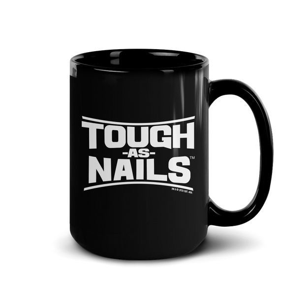 Tough As Nails Stacked Logo Black Mug | Official CBS Entertainment Store