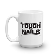 Tough As Nails Stacked Logo White Mug | Official CBS Entertainment Store