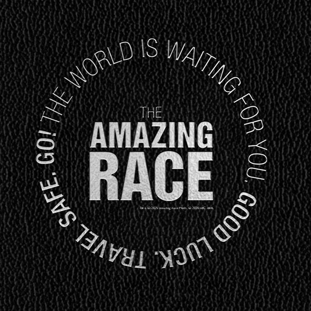 The Amazing Race Starting Badge Journal | Official CBS Entertainment Store