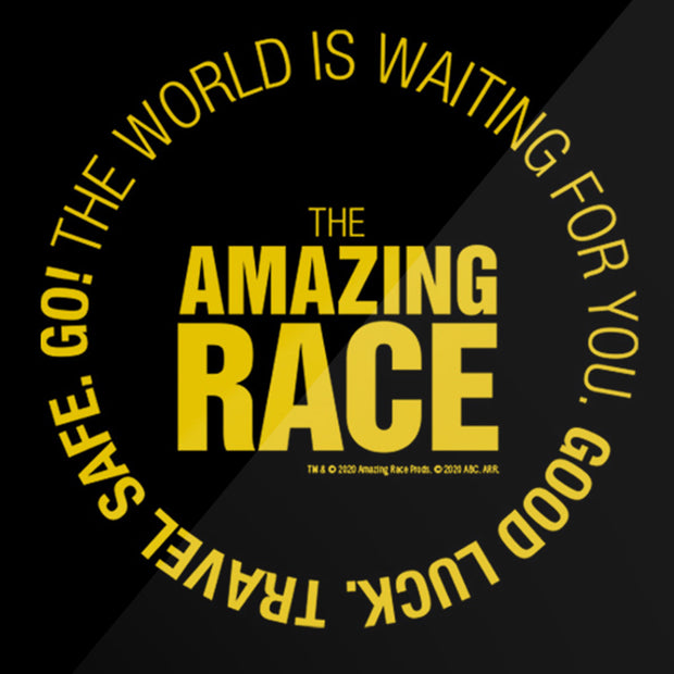 The Amazing Race Starting Badge Metal Sign | Official CBS Entertainment Store