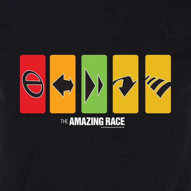 The Amazing Race Race Clues Adult Short Sleeve T-Shirt | Official CBS Entertainment Store