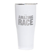 The Amazing Race Logo Laser Engraved SIC Tumbler | Official CBS Entertainment Store