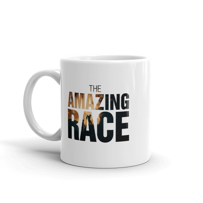 The Amazing Race Color Logo White Mug | Official CBS Entertainment Store