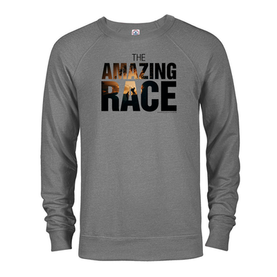 The Amazing Race Color Logo Lightweight Crewneck Sweatshirt | Official CBS Entertainment Store