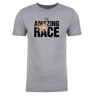 The Amazing Race Color Logo Men's Tri-Blend T-Shirt | Official CBS Entertainment Store