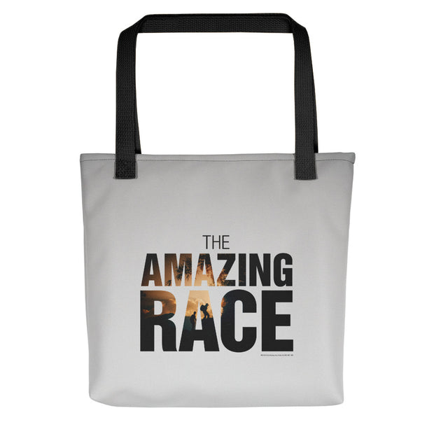 The Amazing Race Color Logo Premium Tote Bag | Official CBS Entertainment Store