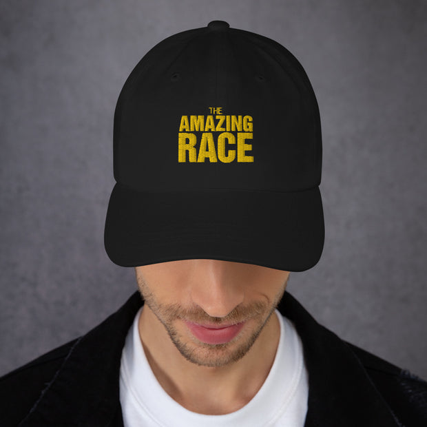 The Amazing Race Yellow Logo Embroidered Hat | Official CBS Entertainment Store