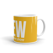 The Drew Barrymore Show Block Logo White Mug | Official CBS Entertainment Store