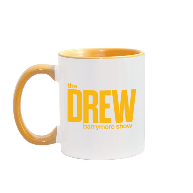 The Drew Barrymore Show The Drew Barrymore Show Two-Tone Mug | Official CBS Entertainment Store