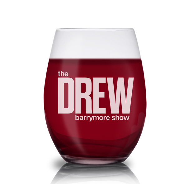 The Drew Barrymore Show The Drew Barrymore Show Laser Engraved Stemless Wine Glass | Official CBS Entertainment Store