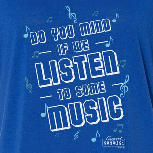 Carpool Karaoke Shall We Listen To Some Music Women's Relaxed T-Shirt | Official CBS Entertainment Store