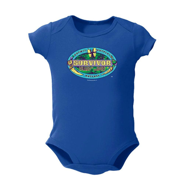 Survivor Season 39 Island of the Idols Baby Bodysuit | Official CBS Entertainment Store