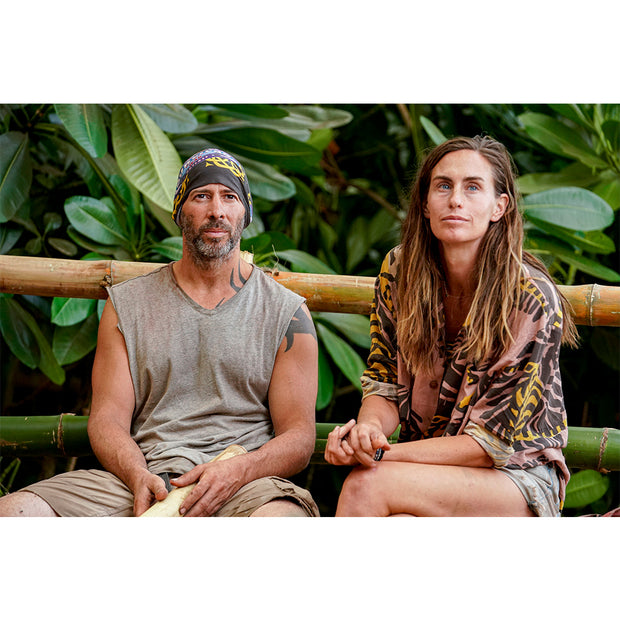 Survivor Season 40 Winners at War BUFF® Headwear - Koru Tribe | Official CBS Entertainment Store