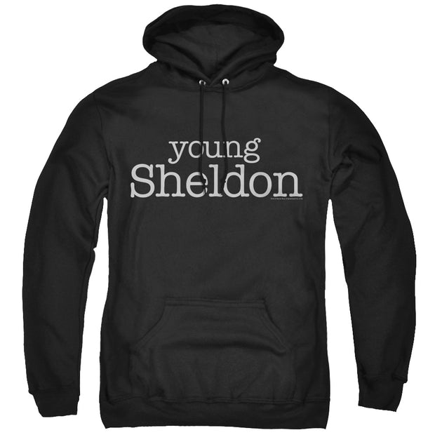 Young Sheldon Logo Hooded Sweatshirt | Official CBS Entertainment Store