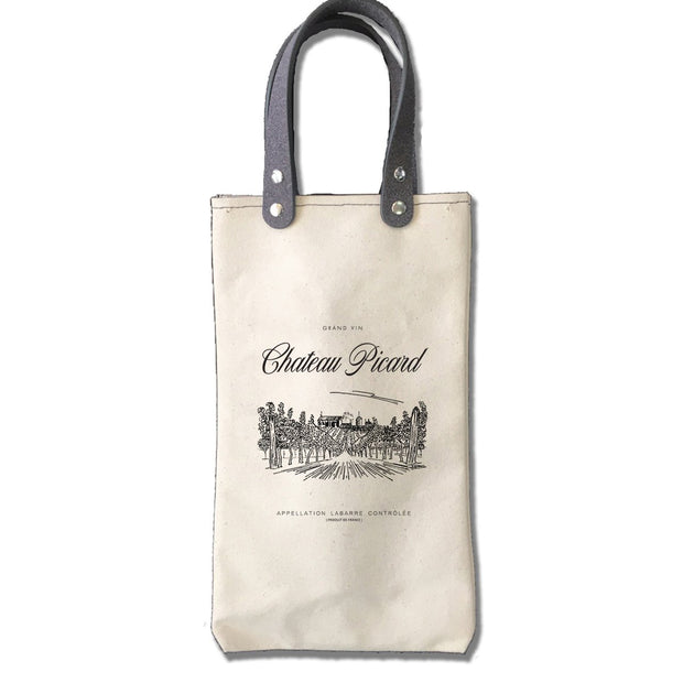 Star Trek: Picard Chateau Picard Canvas Wine Tote | Official CBS Entertainment Store