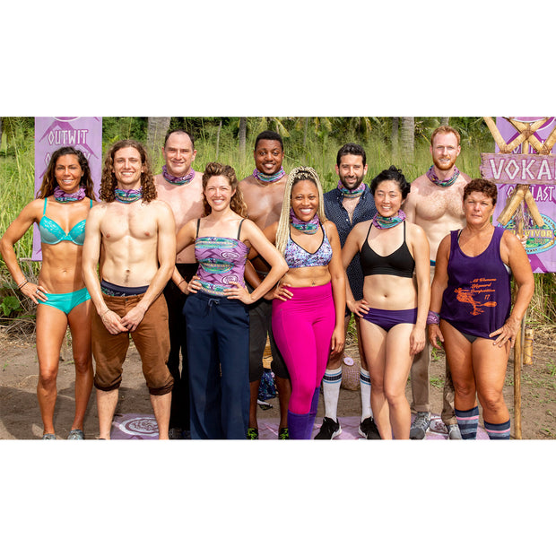 Survivor Season 39 Island of the Idols BUFF® - Vokai | Official CBS Entertainment Store