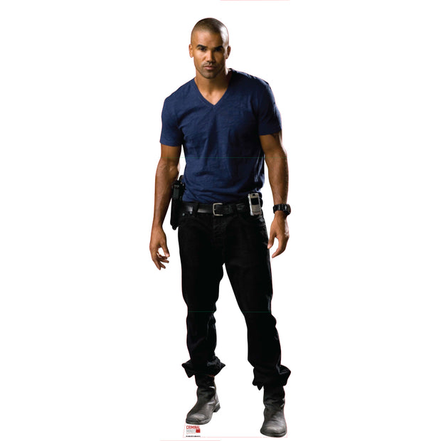 Criminal Minds Derek Morgan Standee | Official CBS Entertainment Store