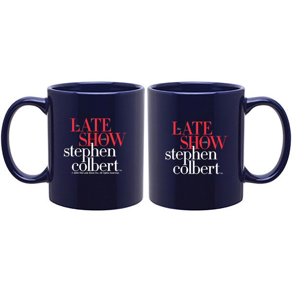 The Late Show with Stephen Colbert Official Mug | Official CBS Entertainment Store