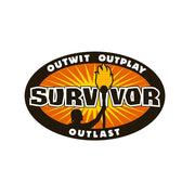 Survivor Outwit, Outplay, Outlast Logo Two-Tone White Mug | Official CBS Entertainment Store