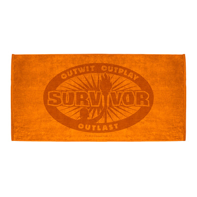 Survivor Outwit, Outplay, Outlast Beach Towel | Official CBS Entertainment Store