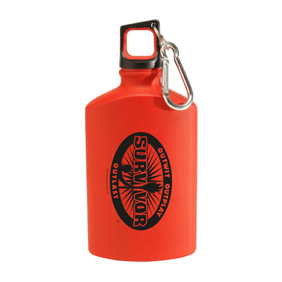 Survivor Season 39 Island of the Idols Logo Canteen Water Bottle | Official CBS Entertainment Store