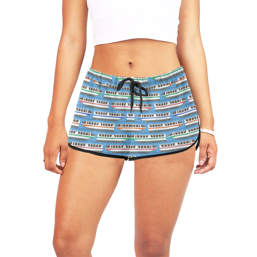 Monorail Women's Relaxed Shorts - Ambrie