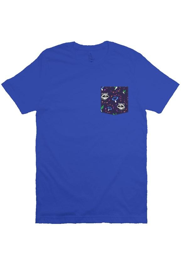 Colorful Wind Unisex Pocket Tee