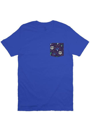 Space Commander Unisex Pocket Tee