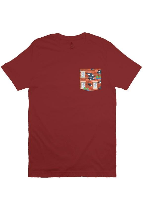 Wreck It Pocket Tee - Ambrie