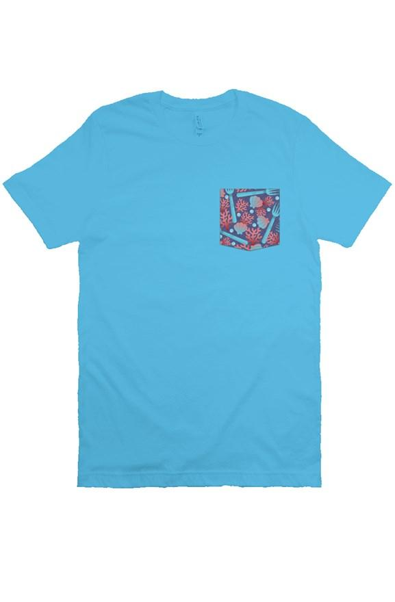 Under The Sea Unisex Pocket Tee - Ambrie