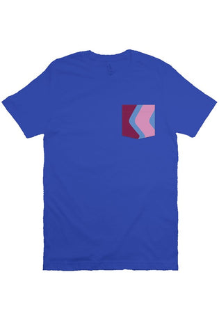 Blueberry Wall Pocket Tee