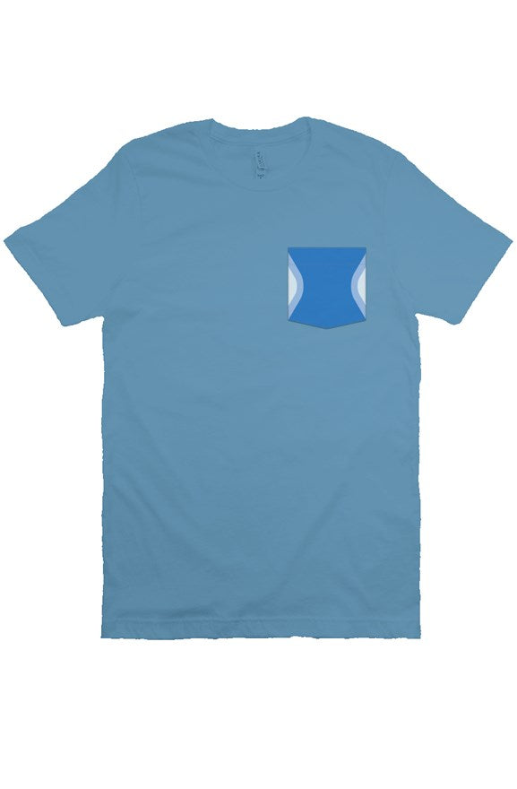 Blueberry Wall Pocket Tee - Ambrie