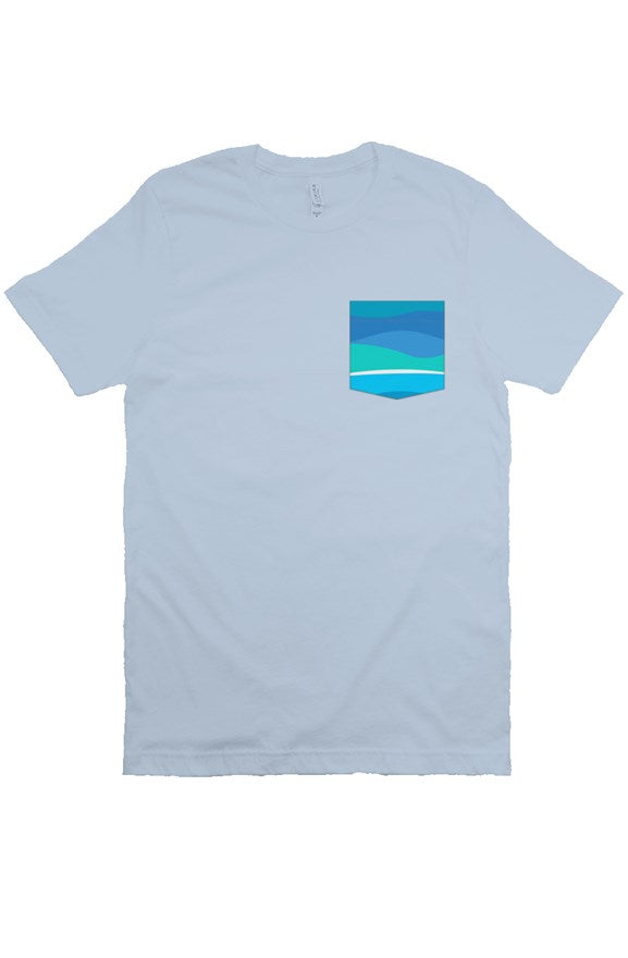 Toothpaste Wall Pocket Tee - Ambrie
