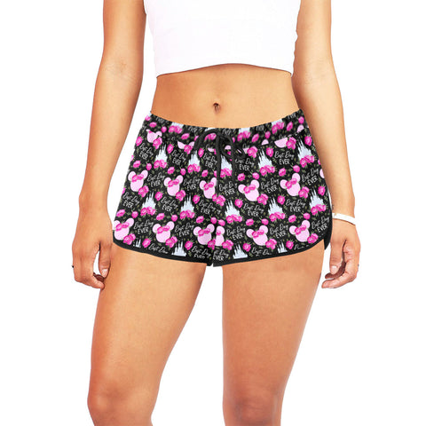 Enchanted Rose Women's Relaxed Shorts