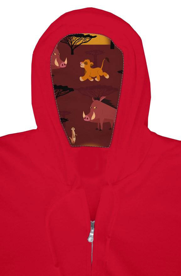 Savannah Friends Zip Hoodie