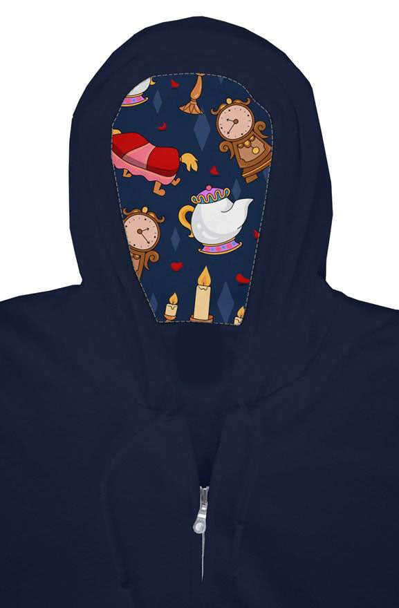 Enchanted Friends Zip Hoodie
