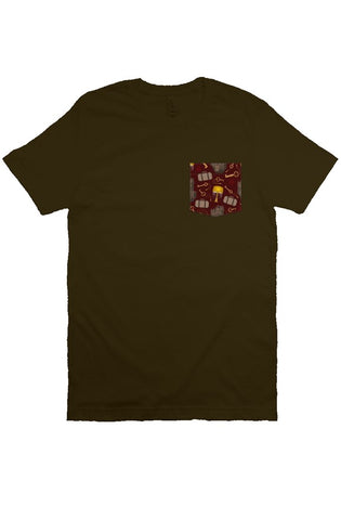Bad Apple Pocket Tee