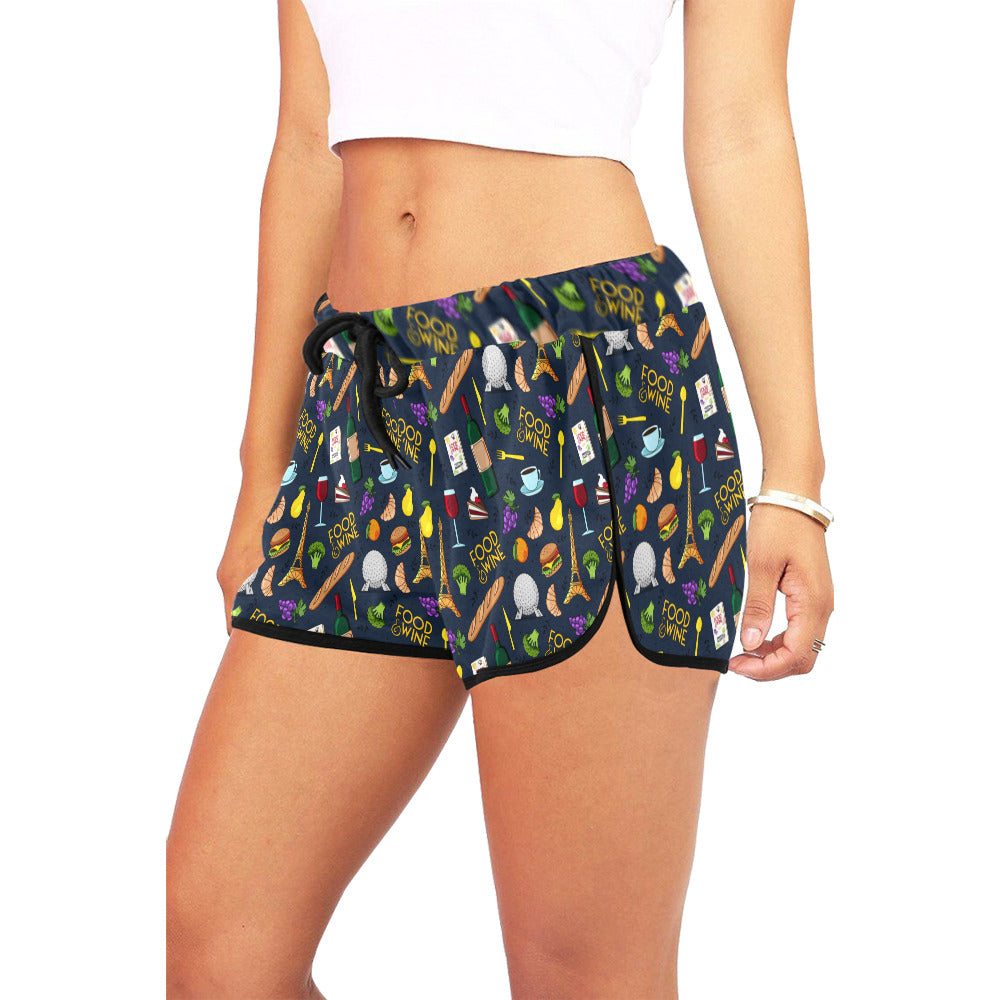 Food And Wine Women's Relaxed Shorts - PRESALE