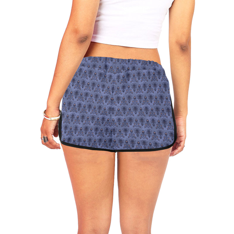 Haunted Women's Relaxed Shorts - Ambrie