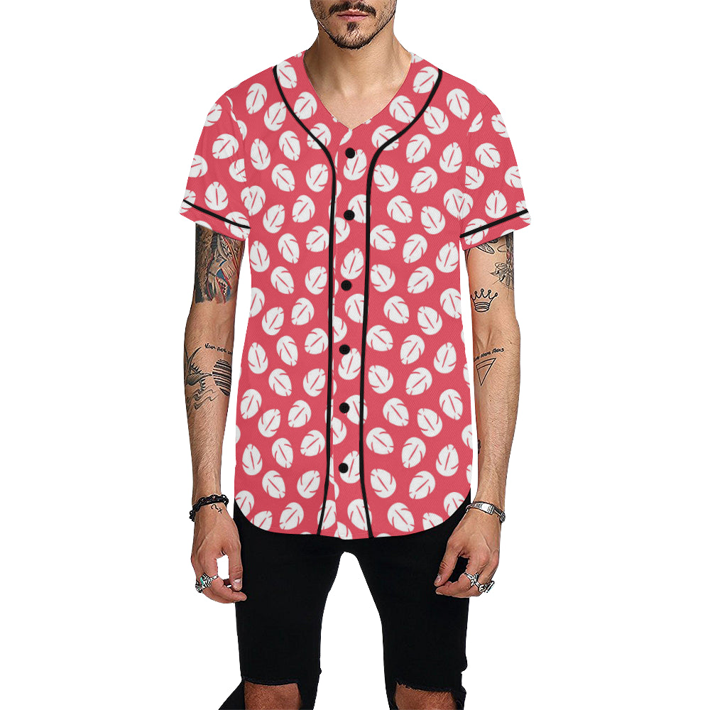 Hawaiian Flowers Baseball Jersey