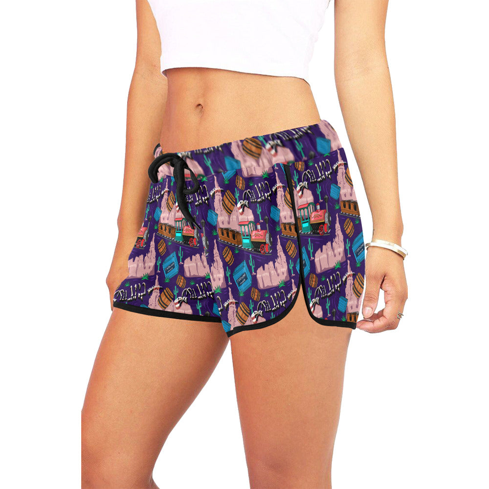 Mountain Coaster Women's Relaxed Shorts - PRESALE