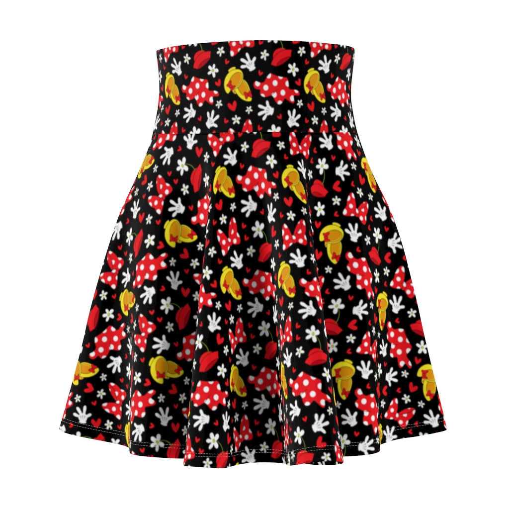 All About The Bows Women's Skater Skirt