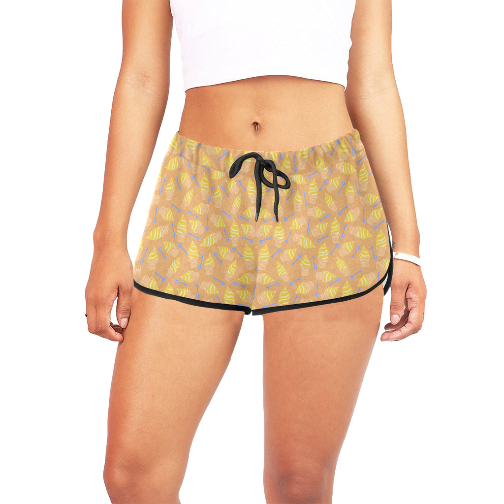 Pineapple Whip Women's Relaxed Shorts