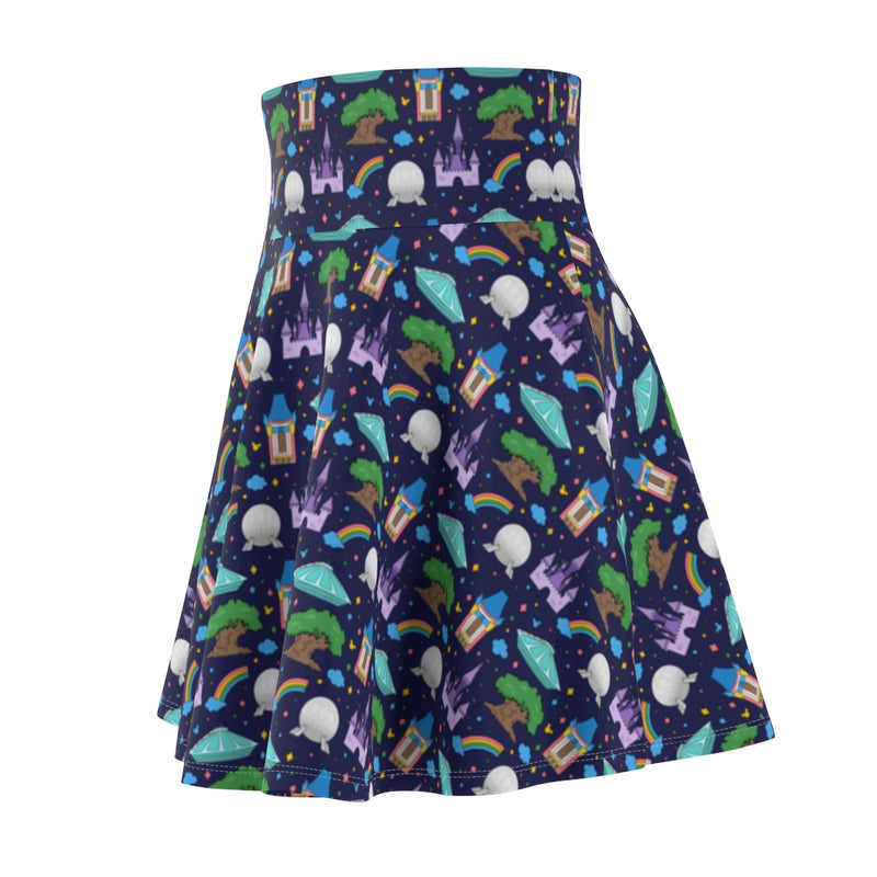Park Hopper Women's Skater Skirt